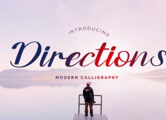 Directions Font