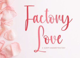 Factory Love Font