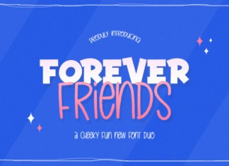 Forever Friends Duo Font