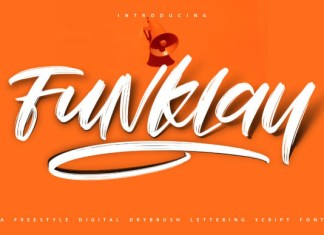 Funklay Font