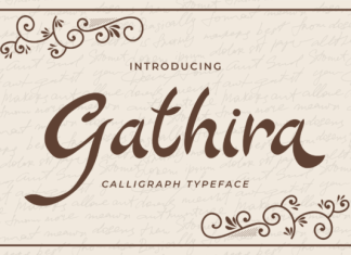 Gathira Font