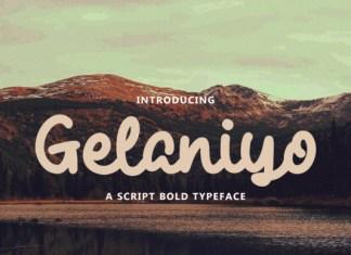 Gelaniyo Font