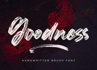 Goodness Font