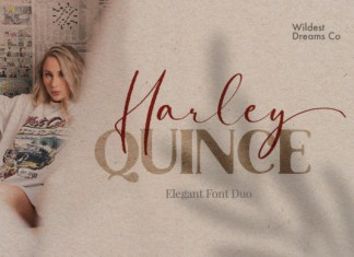 Harley Quince Font