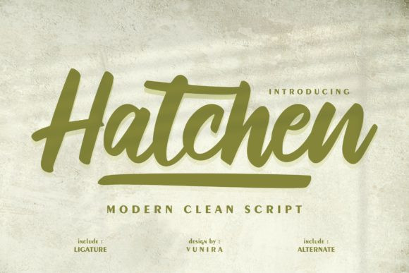 Hatchen Font