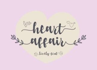 Heart Affair Font