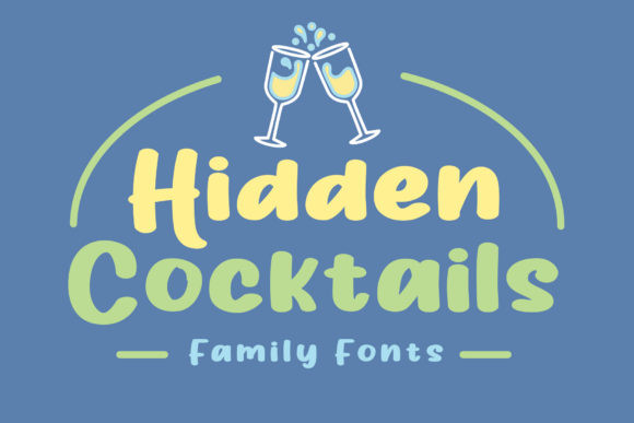 Hidden Cocktails Font