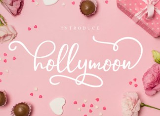 Hollymoon Font