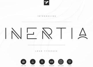 Inertia Font