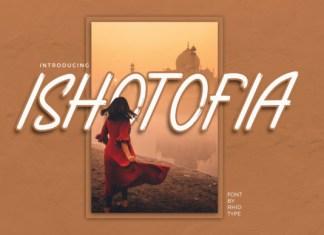 Ishotopia Font