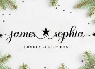 James Sophia Font