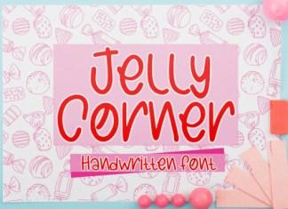 Jelly Corner Font