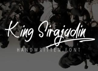 King Sirajudin Font