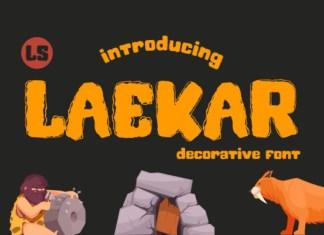 Laekar Font