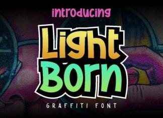 Light Born Font