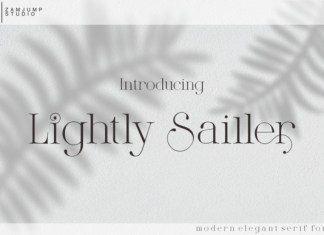 Lightly Sailler Font