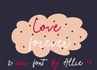 Love Forever Font