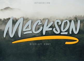 Mackson Font