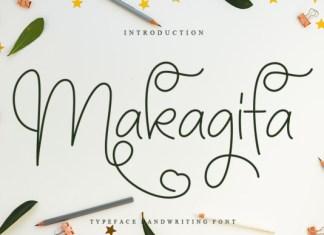 Makagifa Font