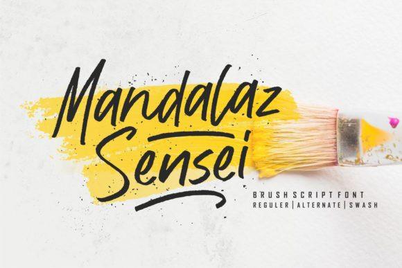 Mandalaz Sensei Font