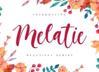 Melatie Font