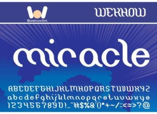 Miracle Font
