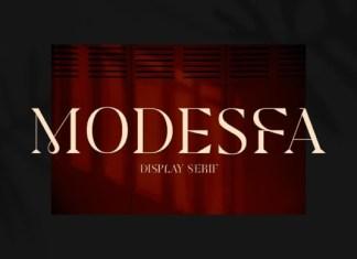Modesfa Font
