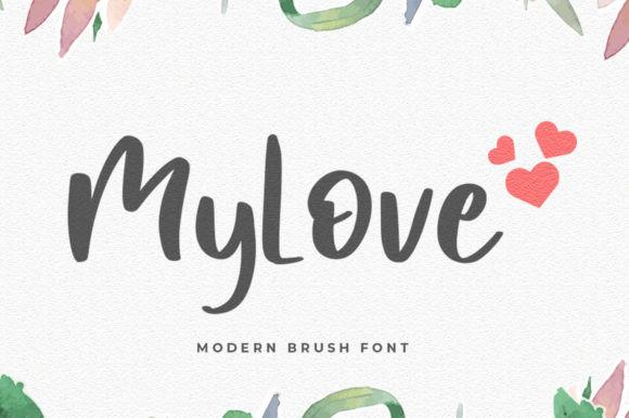 Mylove Font