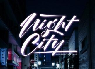 Night City Font