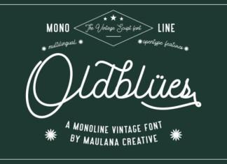 Oldblues Font