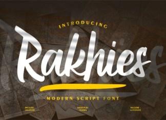 Rakhies Font