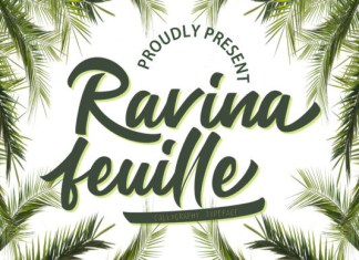 Ravina Feuille Font