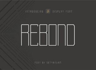 Rebond Font