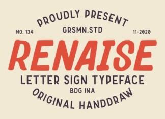 Renaise Font