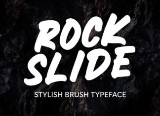 Rockslide Font
