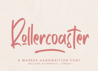 Rollercoaster Font