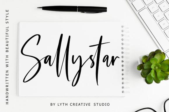 Sallystar Font