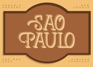 Sao Paulo Font