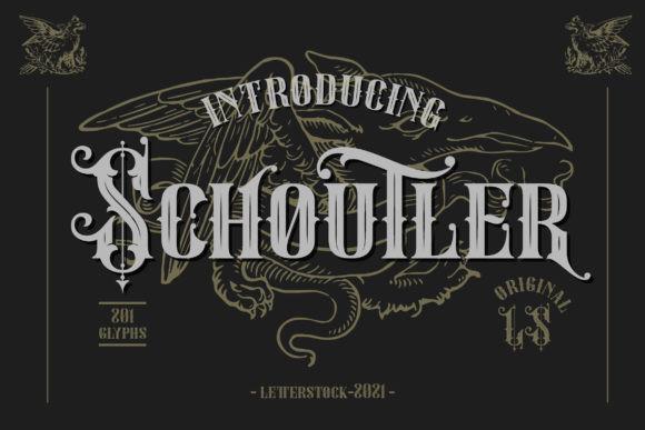 Schoutler Font