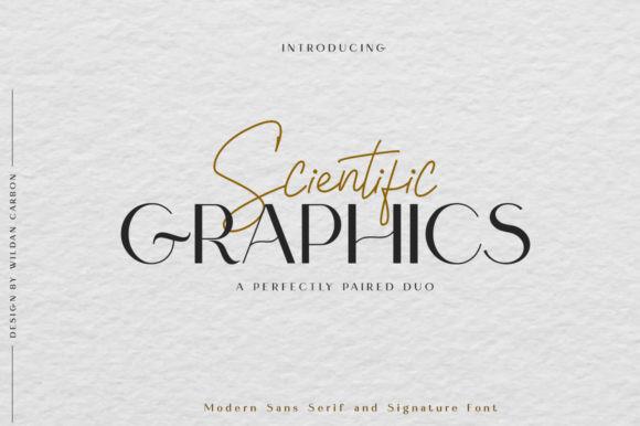 Scientific Graphics Font