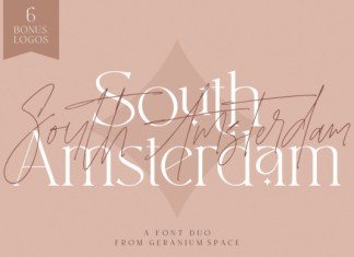 South Amsterdam Duo Font