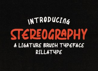Stereography Font