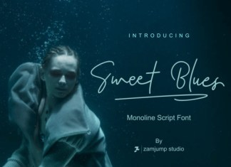 Sweet Blues Font