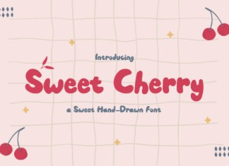 Sweet Cherry Font