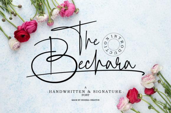The Bechara Font