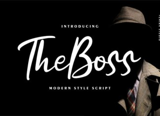 The Boss Font
