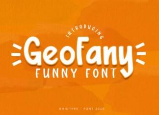 The Geofany Font