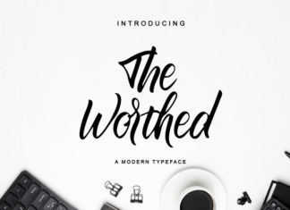 The Worthed Font