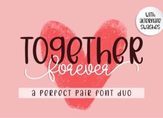 Together Forever Font