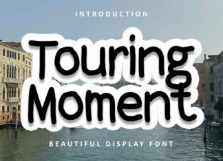 Touring Moment Font